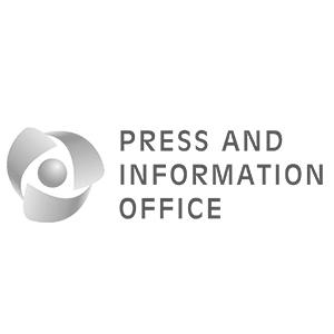 γραφείο τύπου και πληροφοριών PIO one and a half clients logo animation cyprus media marketing